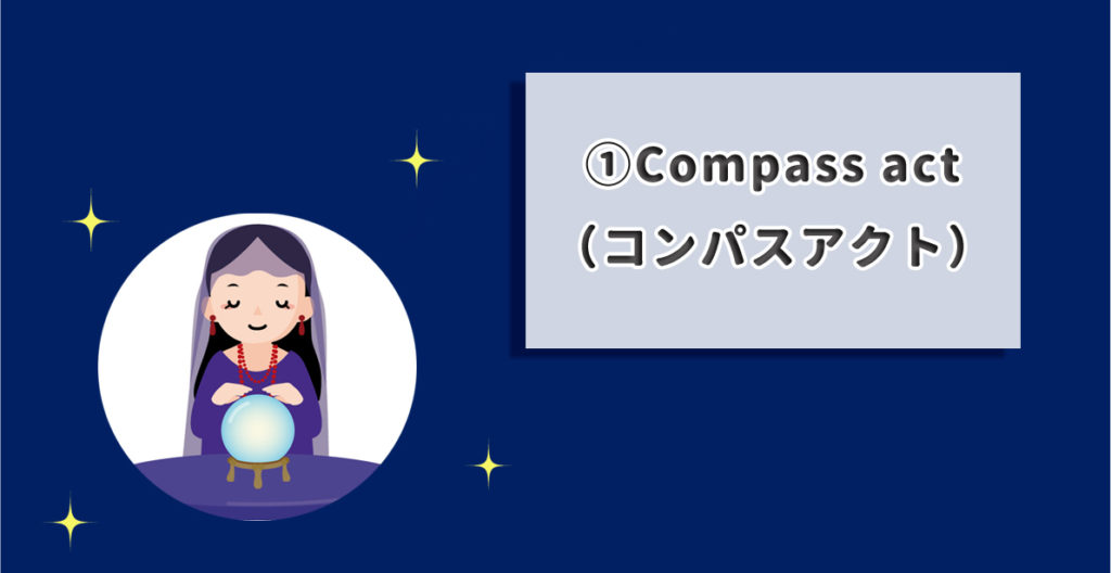Compass act(コンパスアクト)